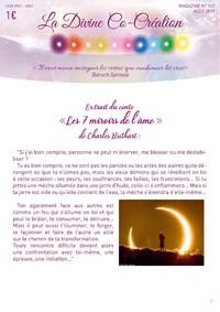 magazine La Divine Co-Création La Flamme Violette