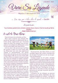 magazine Vivre sa légende La Flamme Violette